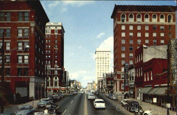 Main Street Greenville S C 1950s South Carolina