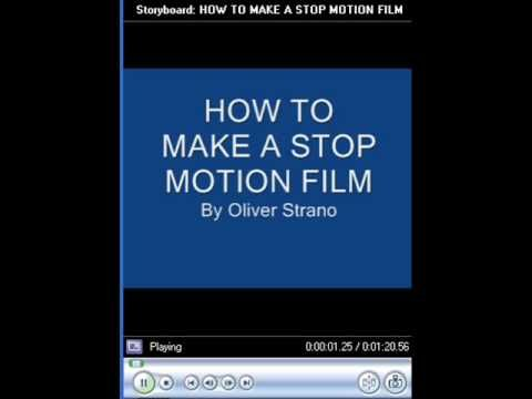 How to make a simple stop motion video using Windows Movie Maker