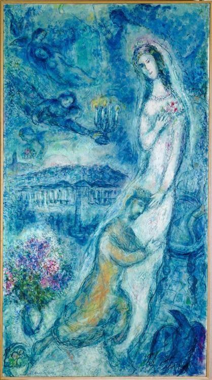 Marc Chagall - Bathsheba, 1963