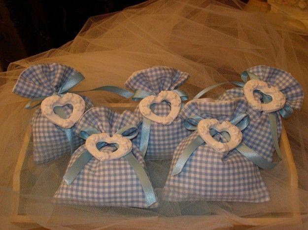 sacchetti bomboniere fai da te battesimo - Cerca con Google