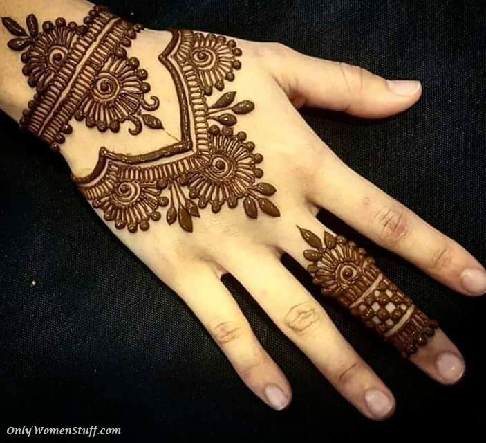 Best Mehandi Designs Easy