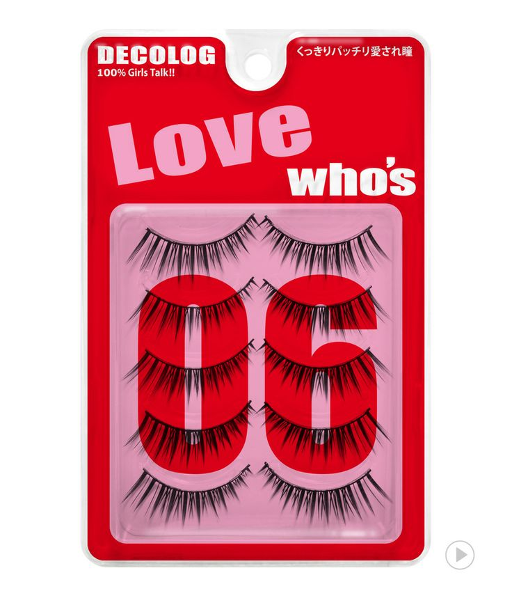 Delolog Who's Eyelash No.6 Love