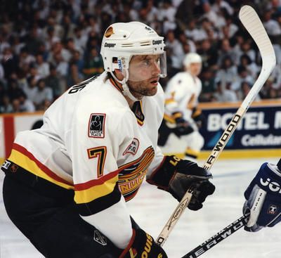 #7 Cliff Ronning, Vancouver Canucks