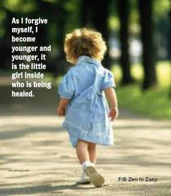 Embrace your inner child and allow her or him their expression so you can experience healing on a deeper level than you knew possible xxx