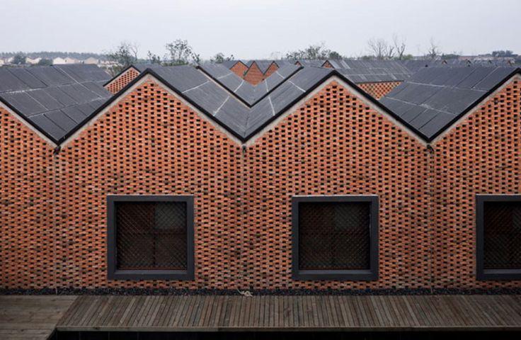 AZL architects, Iwan Baan · Three Courtyard Community centre. Yangzhou, China · Divisare