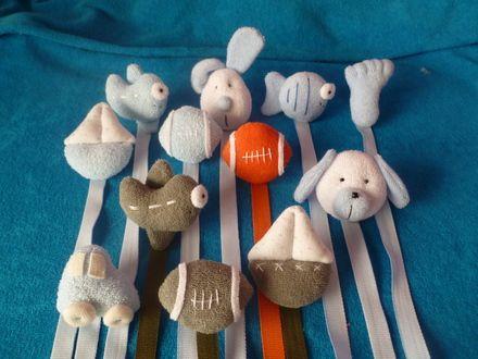 Fotos de accesorios para bebes portachupetes artesanales, los mas lindos y resistentes! Avellaneda