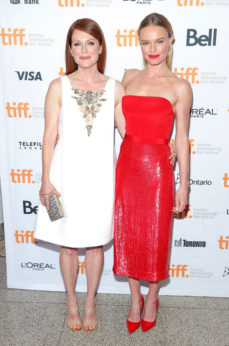 Julianne Moore and Kate Bosworth at the #TIFF14 premiere of Still Alice. (Photo: Getty Images)