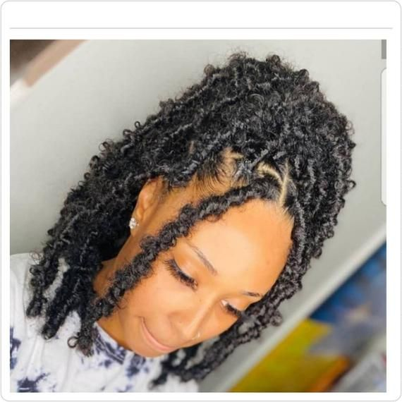 Butterfly Locs Distressed Faux Locs Dreadlocks Wig