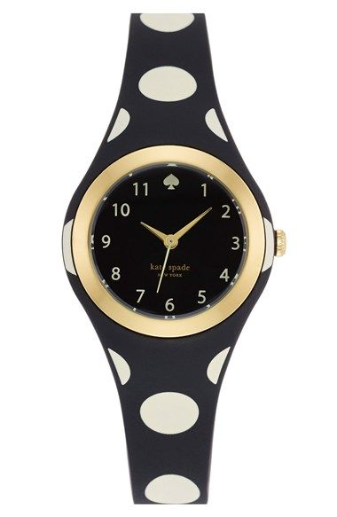 Love this polka dot Kate Spade watch