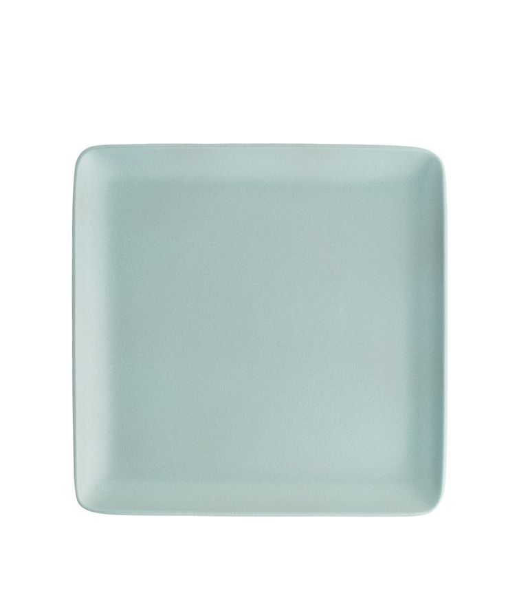 The largest plate available in our Plaza line - designed in the 1980s. Use it as a platter, a large dinner plate or a charger beneath a coupe dinner plate. Set your table with contemporary square shapes and/or mix and match with our other tableware lines.