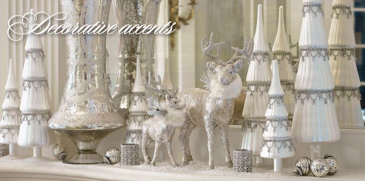 Christmas Home Decor - Holiday Accents - Indoor Christmas Decorations - Frontgate