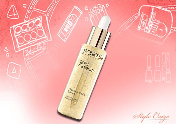 pond's gold radiance youth serum