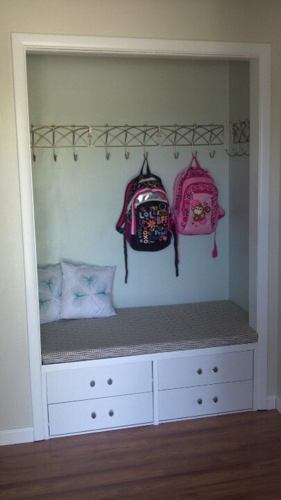 28 Best Images About Mudroom Nooks Coat Closets On