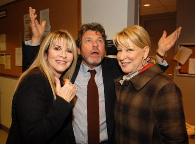 Stevie, Jann Wenner, Bette Midler   ☆♥❤♥☆