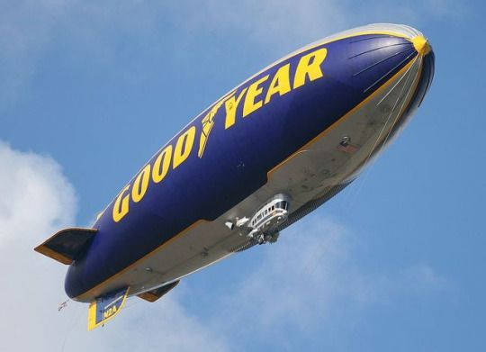 Aviation Blogs  /  Goodyear is replacing its blimps with semi-rigid airships.