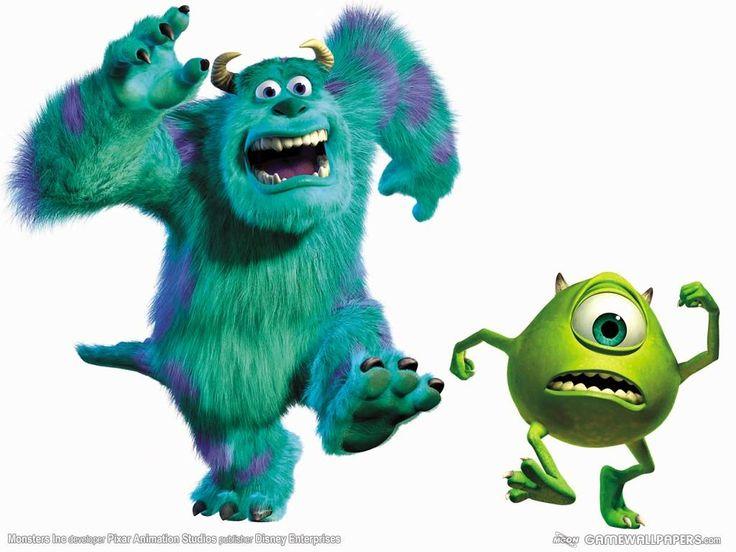 123 best  Monster AG  images on Pinterest  Monsters inc