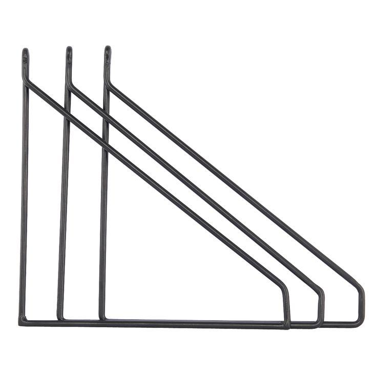 Apart hyllebærer 3-pakk, svart – House Doctor – Kjøp møbler online på ROOM21.no