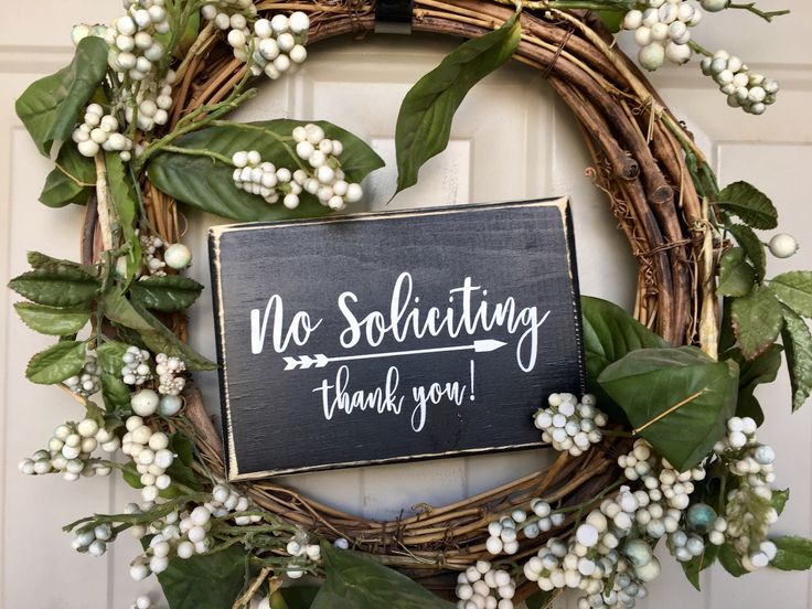 No Soliciting Thank You Wood Sign Housewarming Gift Front Door Sign Porch Decor Under 15 No Soliciting Sign Black Wooden Sign by 7thstreetsigns on Etsy https://www.etsy.com/listing/494071060/no-soliciting-thank-you-wood-sign
