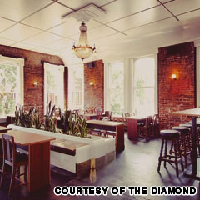 vancouver cocktail bars: the diamond - Image Courtesy of The Diamond
