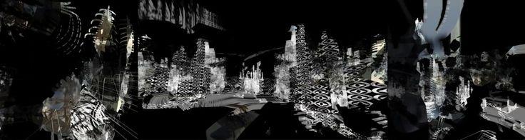 Merja Nieminen & James Andean: 'Re:****Sitruuna ja meduusa' (2014 version).  Three channeled video installation.