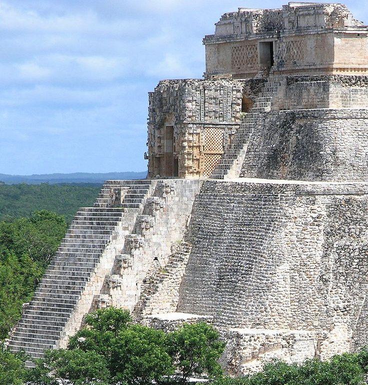 Mayan Ruins UXMAL Yucatan, Mexico