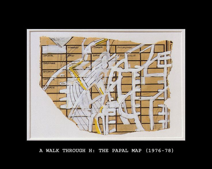 Peter Greenaway, A Walk Through H: The Reincarnation of an Ornithologist, The Papal Map, 1976-1978