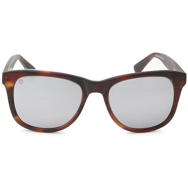 Taylor Morris Eyewear Mens Wayfarer Taylor Morris Eyewear Saratoga... ($200) ❤ liked on Polyvore featuring mens, men's accessories, men's eyewear en men's sunglasses