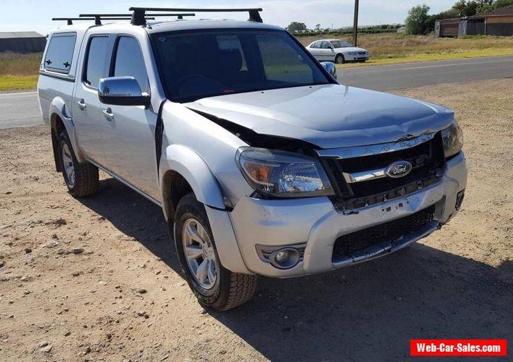 2010 FORD RANGER XLT PK 4X4 DUAL CAB 3.0DT LIGHT DAMAGE REPAIRABLE DRIVES #ford #ranger #forsale #australia