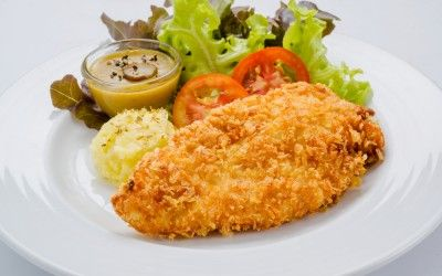 "Oven ""Fried"" Chicken low carb"