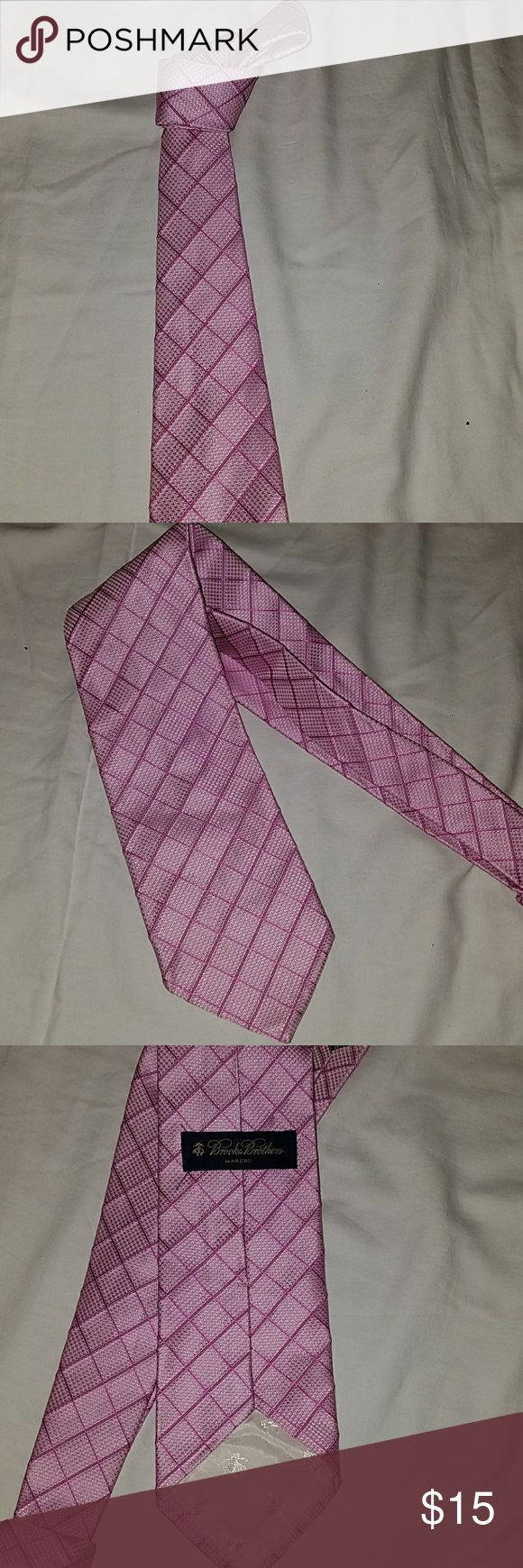 Brooks Brother Tie Brooks Brothers pink silk tie like new no stains or Mark's Brooks Brothers Accessories Ties