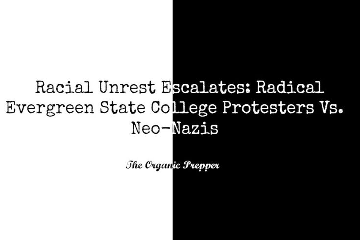 The racial unrest escalates at Evergreen State College.