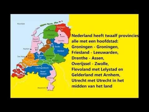 Provincielied die kinderen kan helpen om Nederland te leren.