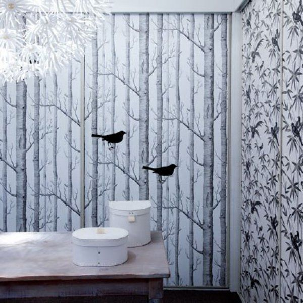1000 id es sur le th me salle de bains papier peint sur pinterest salle de - Papier peint dressing ...