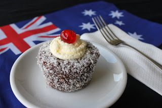 Diary of a Ladybird: Australia Day Cupcakes