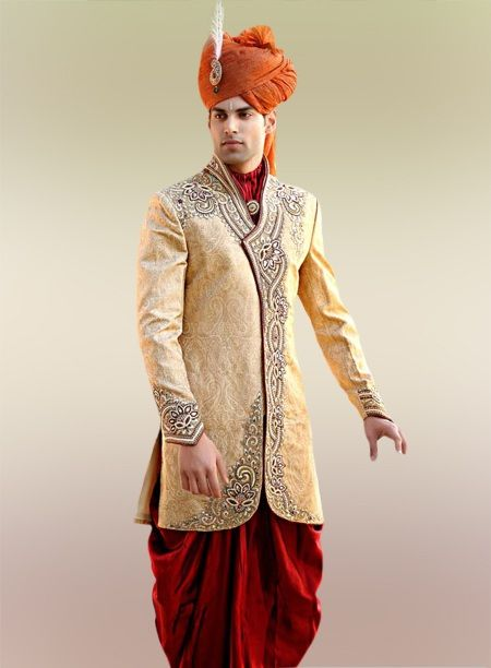 South Indian Wedding Suits For Men Beautiful