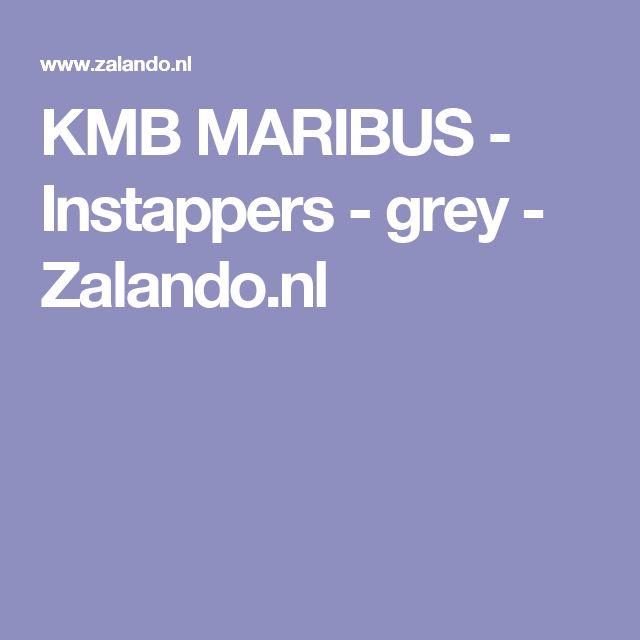 KMB MARIBUS - Instappers - grey - Zalando.nl