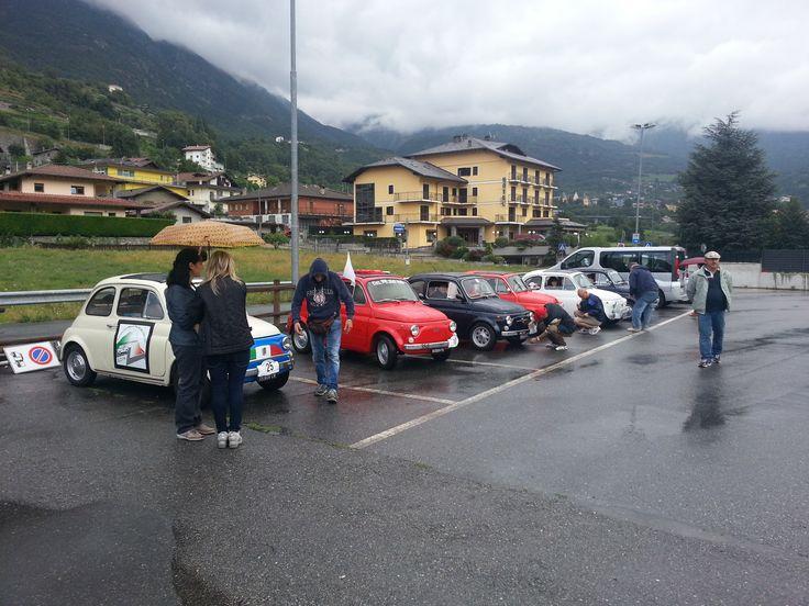 Primo Raduno FIAT 500 Cinquino nella Valle del Cervino 2014 ritrovo a Chatillon  loc. Perolle ( Aosta Valley )  02/08/2014 FIAT 500 CLUB ITALIA COORDINAMENTO DI CREMONA  #valtournenche   #breuilcervinia   #cervino   #aostavalley   #enjoycervino   #summeradrenaline  #fiat500   #fiat500owners   #fontina  #dreamcar   #finally   #happy   #loveit   #car   #minicar   #italiancars   #fiat