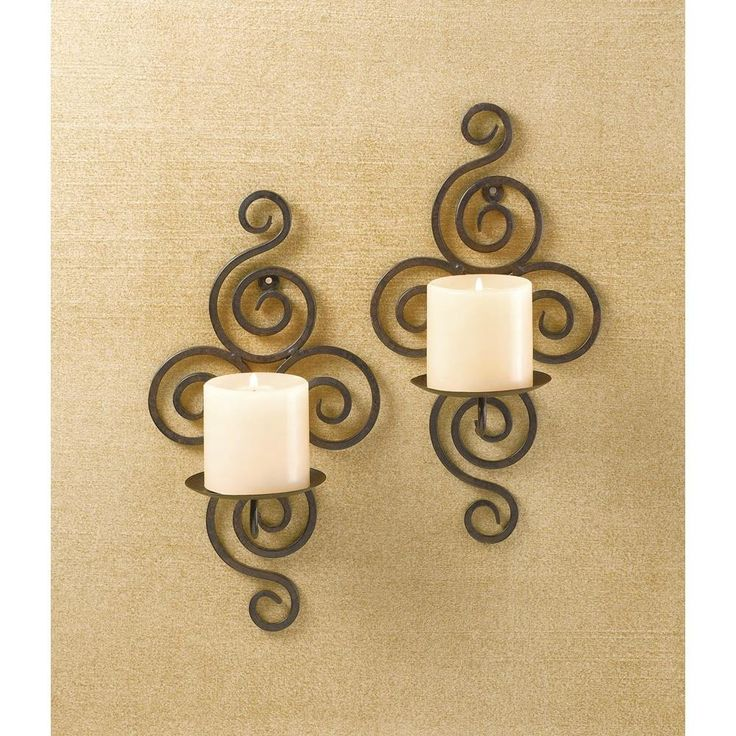 41 best Wall Sconces images on Pinterest | Candle wall sconces ...
