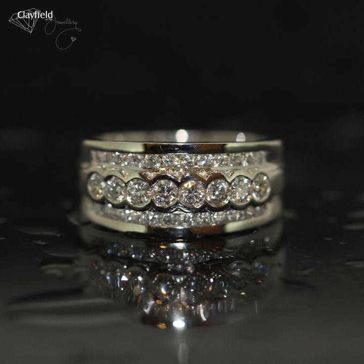 Diamond ring by Clayfield Jewellery in Nundah Village - North Brisbane