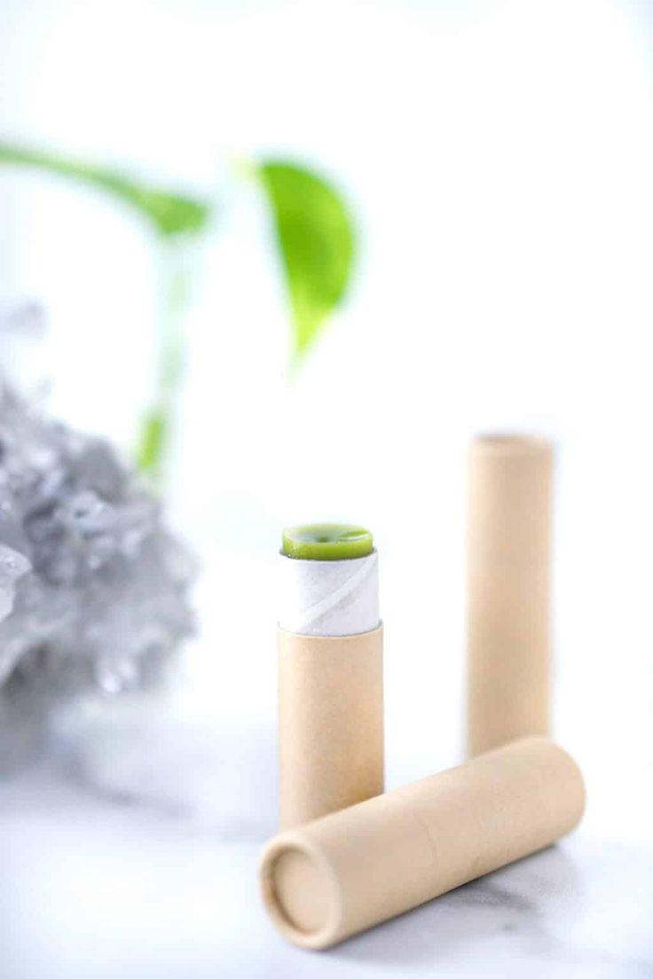 How To Make Vegan Lip Balm with Matcha in 2020   Vegan lip ...