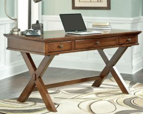 Rustic Solid Wood Home Office Desk