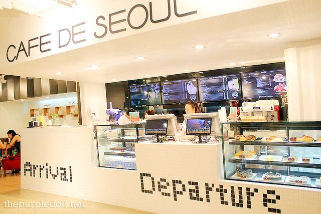 Cafe De Seoul, Taft Manila Brussel Waffle (P245)