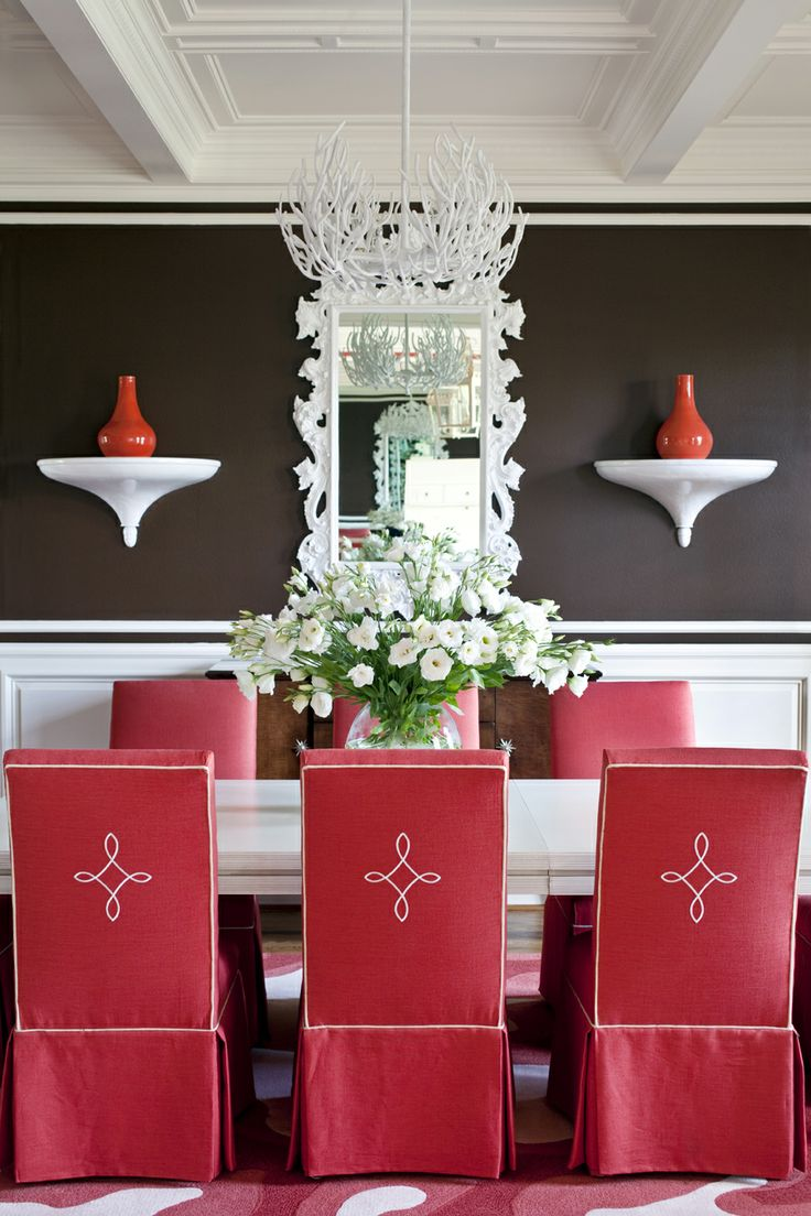 Best Images About Color Schemes Cherry Red From The Flirt Color - Red dining room colors
