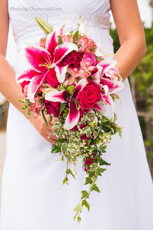 pink lily wedding bouquet 191 best images about stargazer wedding 6587