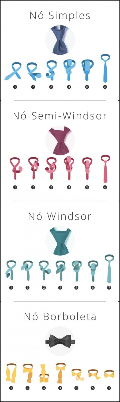 Dica para os noivos! Aprenda 4 tipos de nó de gravata para o casamento e escolha o que mais se adéqua ao seu casamento
