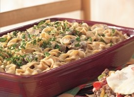 Betty Crocker - Hamburger Stroganoff Casserole (this cold day is making me post winter recipes!)