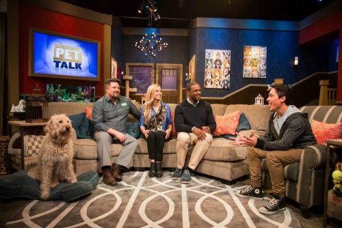 Nat Geo Wild's Pet Talk with Dr. Courtney Campbell, Dr. Tina Olivieri, Wildlife Expert David Mizejewski, and field reporter Andre Millan