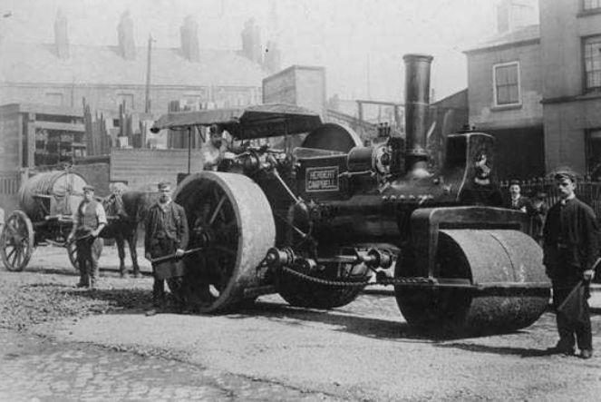 1897-Resurfacing-Boaler-Street-A-Steam-Roller-and-Water-Cart.jpg;  663 x 443 (@100%)