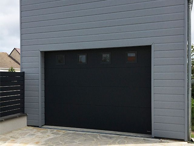 Best 25 porte garage bois ideas on pinterest porte for Fenetre kline