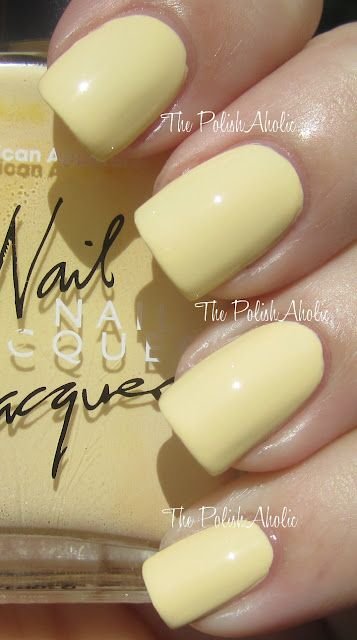 American Apparel: Butter #nails